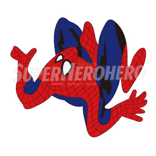 Designs Spiderman Iron on Transfers (Wall & Car Stickers) No.4632